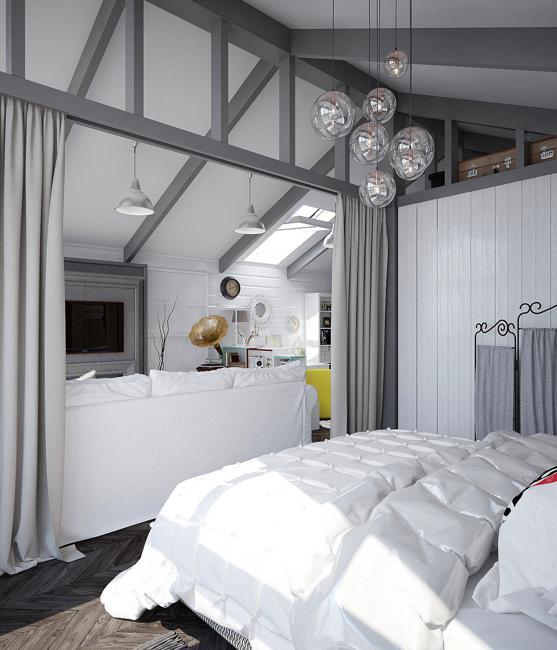 Elegant Girls Bedroom Ideas: Girls Bedroom Design And Decorating Turning Attic Into