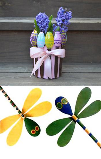 15 Wood Crafts For Outdoor Home Decorating With Wooden Spoons