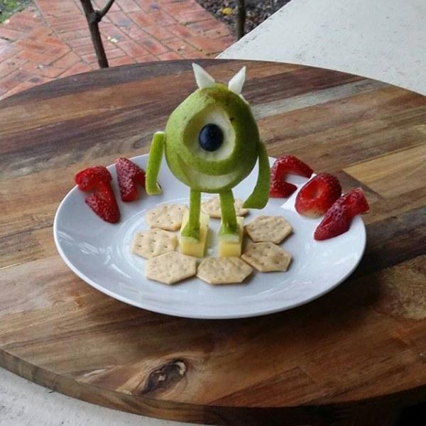 Creative food art design ideas transforming healthy food for Art of food decoration