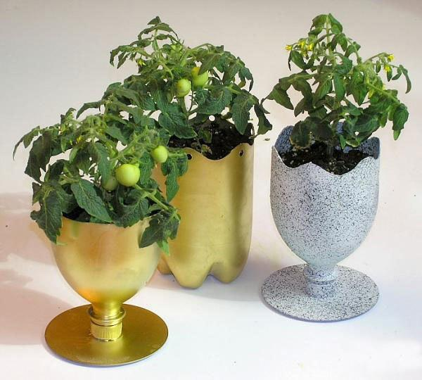 Plastic Recycling For Pots With Plants