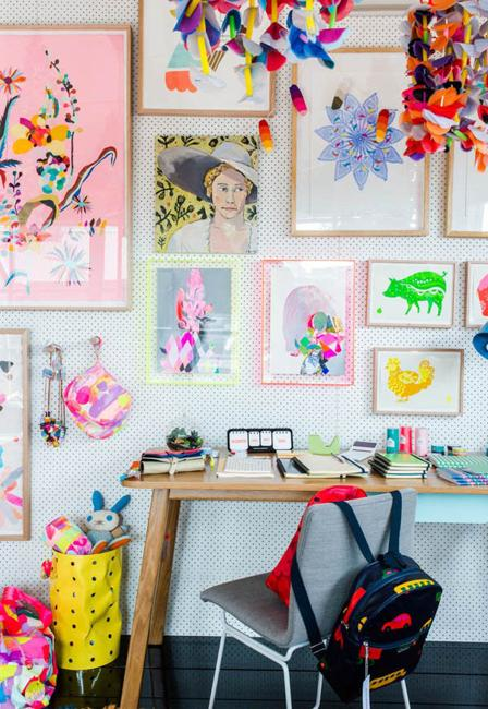 20 Bright Kids Room Decorating Ideas For Young Artists