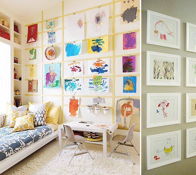 Best 20 Kids Room Design Ideas On Pinterest: 20 Bright Kids Room Decorating Ideas For Young Artists