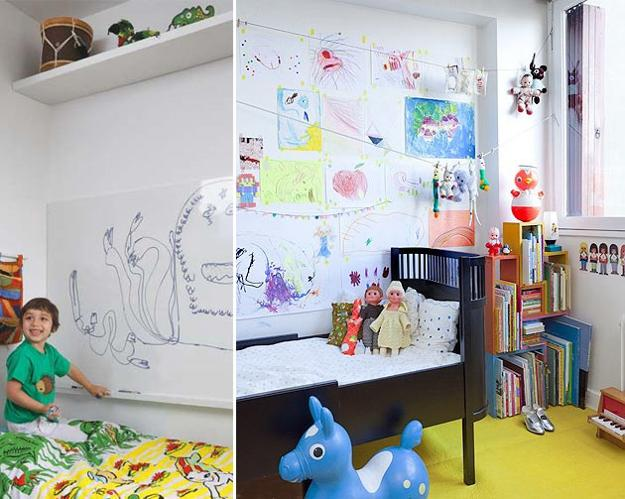 Kids Craft Room Ideas: 20 Bright Kids Room Decorating Ideas For Young Artists