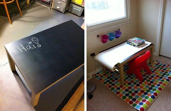 Image result for www.lushome.com young artist wood table peinted