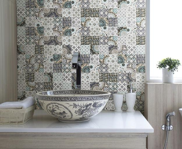 Modern Tiles With Patchwork Decoration Patterns