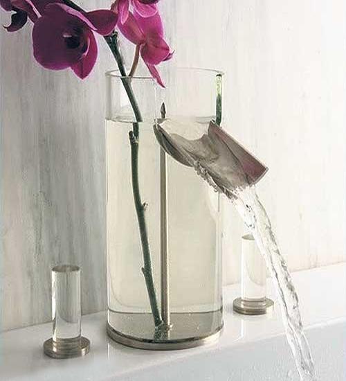 contemporary bathroom faucets, original design ideas