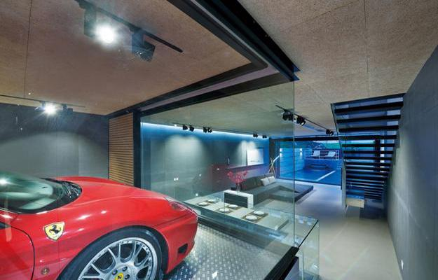 Amazing Modern House Design With Glass Walled Garage By Millimeter