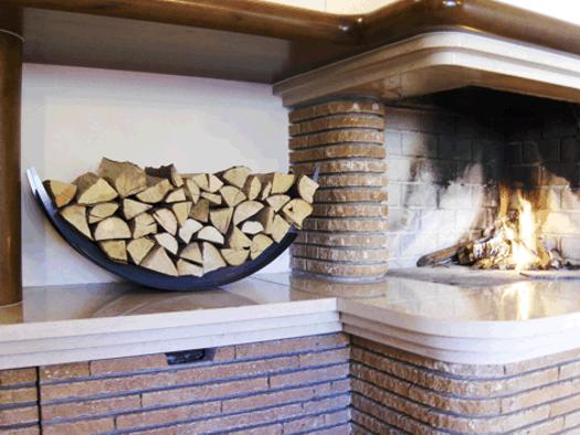 Wood Stove Wood Storage Firewood Rack