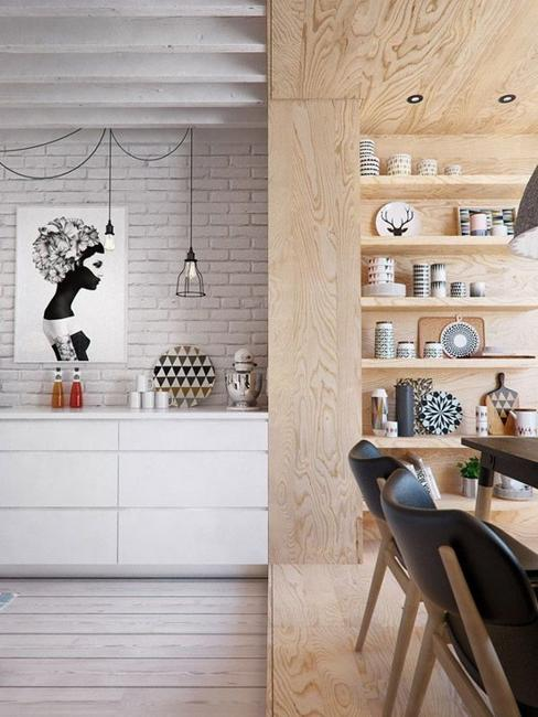 MODERN INTERIOR DESIGN IDEAS BLENDING PLYWOOD WITH CONTEMPORARY