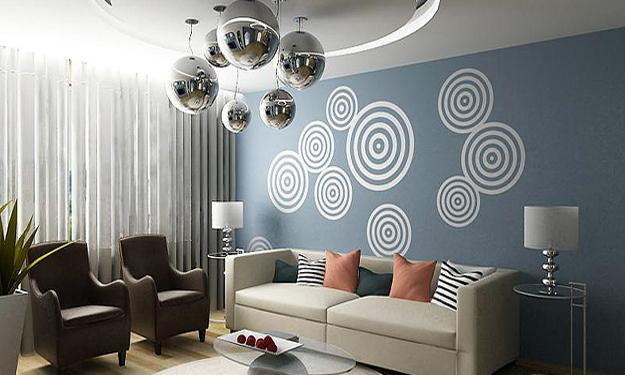 Paint And Decorating 22 Bright Wall Painting Ideas Rh Lushome Com Modern Designs On Walls
