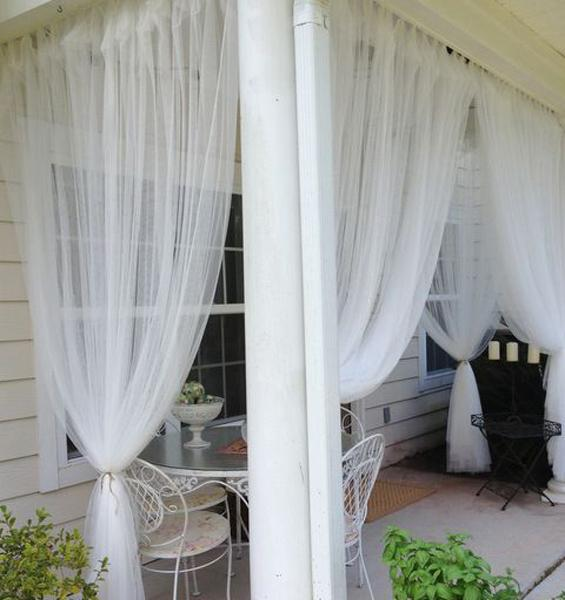 Mosquito Net Ideas Improving Porch Decorating And Balcony Designs