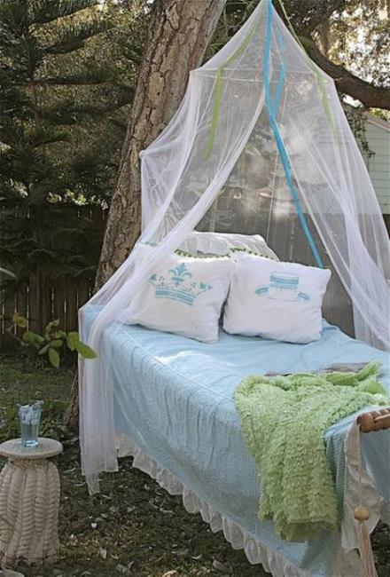 Mosquito Tent Patio: 33 Romantic Outdoor Canopies And Tents Made With Mosquito