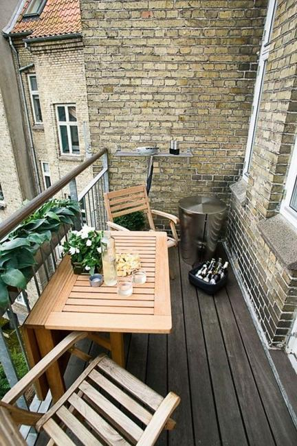 Wood Decking Materials Modern Outdoor Flooring Ideas For Small Patio And Balcony Designs