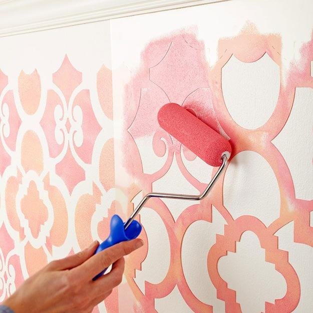 22 Creative Wall Painting Ideas And Modern Painting Techniques