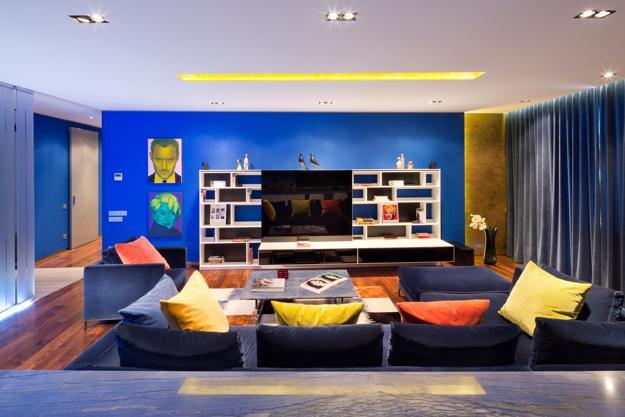 Colorful Modern Interior Design and Inspiring Rich Decor ...