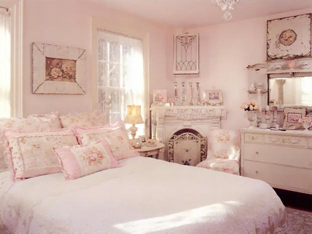 pink vintage bedroom shabby chic decorating ideas and interior design in 12891