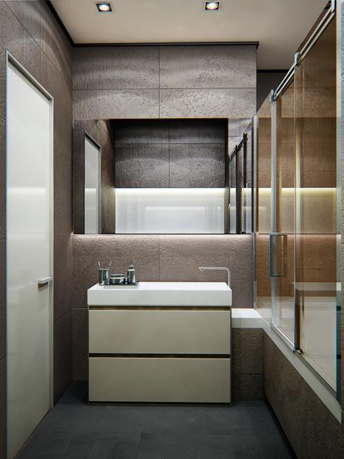 Modern Apartment Ideas Single Person Studio Design With