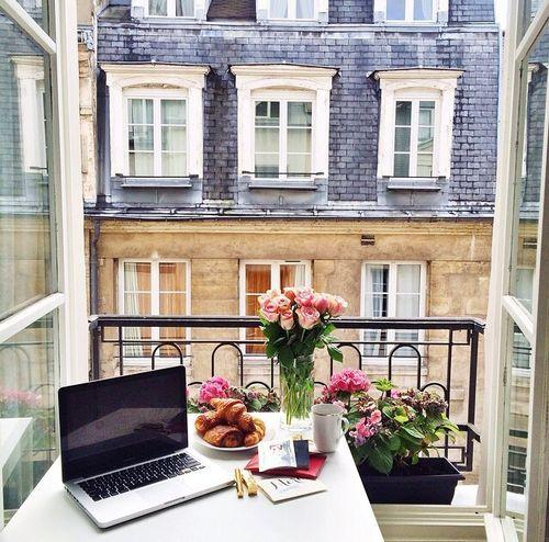 20 Inspiring Home Office Design Ideas For Small Spaces: Space Saving Home Office Ideas Transforming Small Balcony