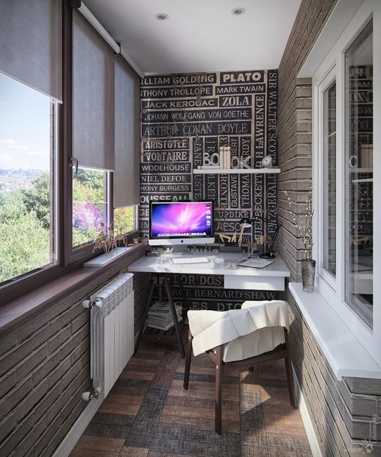 Space Saving Home Office Ideas Transforming Small Balcony