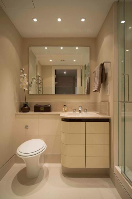 22 Small Bathroom Design Ideas Blending Functionality And