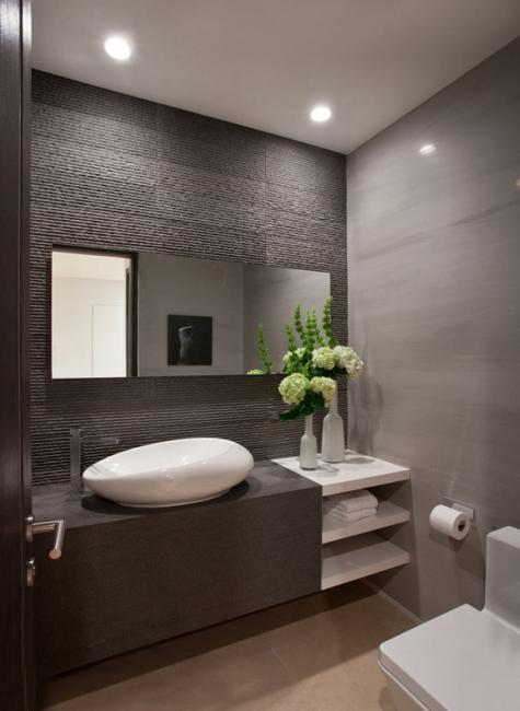 22 Small Bathroom Design Ideas Blending Functionality And Style - Small-bathroom-design