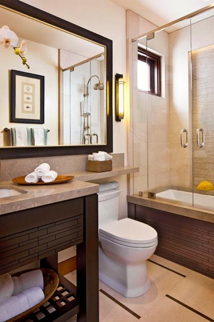 22 Small Bathroom Design Ideas Blending Functionality and ... on Small Bathroom Renovation Ideas  id=70085