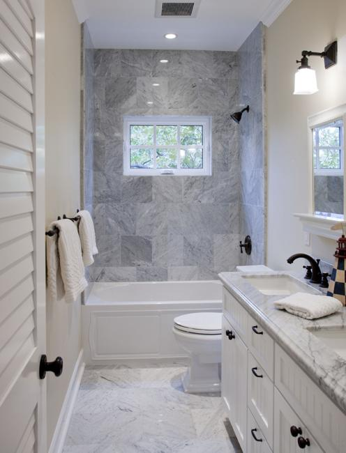 22 Small Bathroom Design Ideas Blending Functionality and ... on Small Bathroom Ideas With Tub id=97665