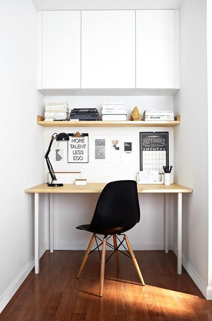 Home Office Design Idea For Small Spaces