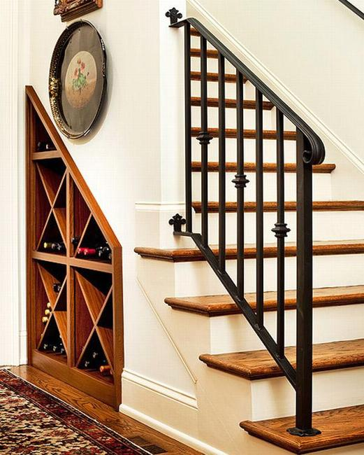 Space Saving Staircase Designs: 25 Space Saving Ideas, Under Staircase Storage Solutions