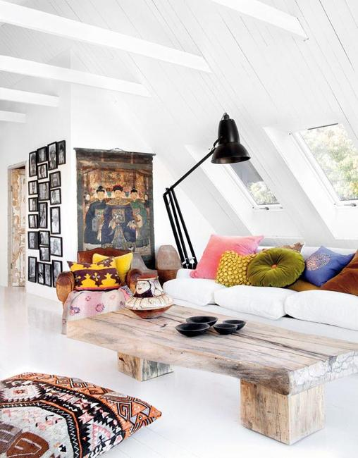 Spectacular Interior Design and Decorating in Eclectic Style ...