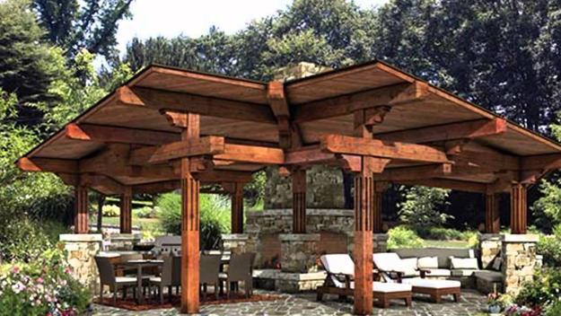 Beautiful Gazebo Designs Creating Contemporary Outdoor