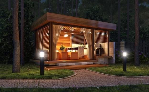 Beautiful Gazebo Designs Creating Contemporary Outdoor
