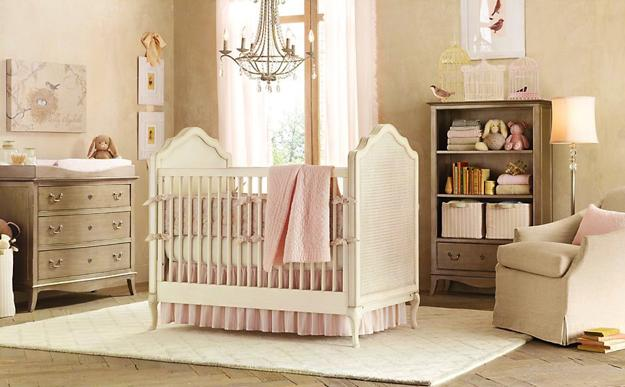 20 baby nursery decorating ideas and furniture placement tips - Newborn baby room decorating ideas ...