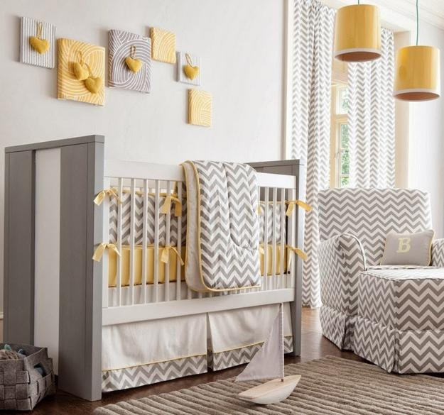 Babies Nursery Decorating Ideas furniture placement and nursery decor ideas. Modern baby room ...