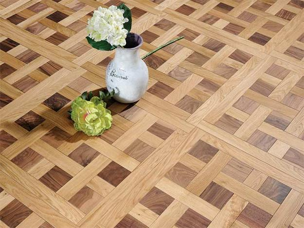 modern interiors with parquet floors