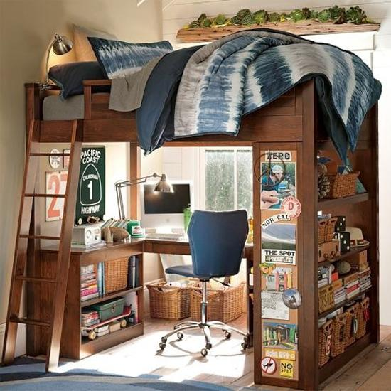 Boy Bedroom Storage: 25 Back To School Kids Room Decorating Ideas Highlighting