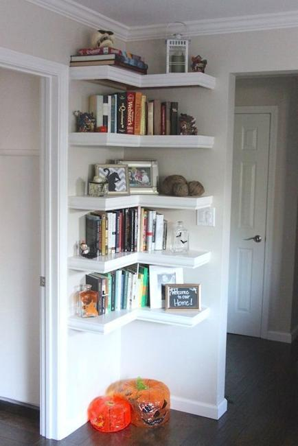 Corner Shelves For Kids Room Design