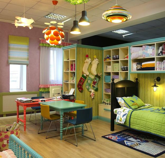 interior redesign and children bedroom decorating