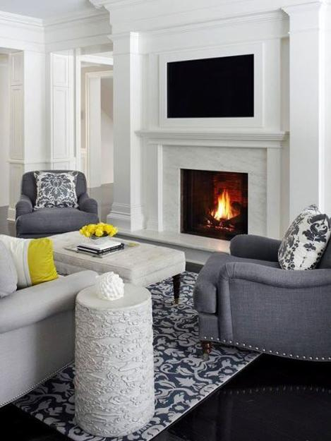 Home Tv Room Design Ideas: 20 Attractive Home Decorating Ideas To Hide Living Room TV
