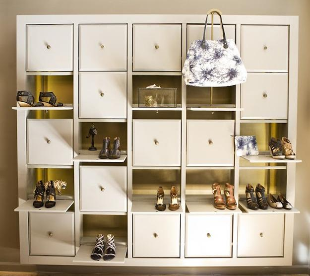 Shoe Organization Hacks: 22 Shoe Storage Ideas Creating Space Saving Interior Design