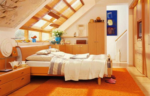 20 Attic Bedroom Designs Efficiently Utilizing Under Roof Spaces
