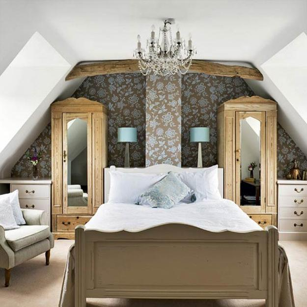 cool attic apartment decorating ideas | 20 Attic Bedroom Designs Efficiently Utilizing Under Roof ...
