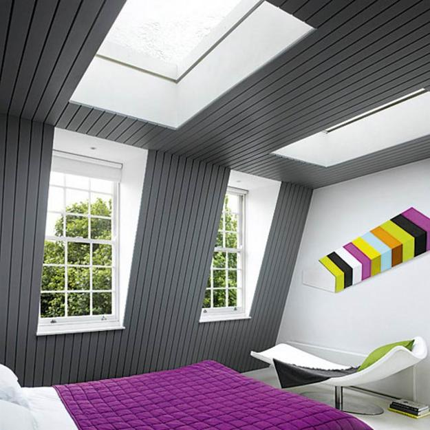 Space Saving Attic Bedroom Designs Adding Cozy European Mansarda To Home  Interiors