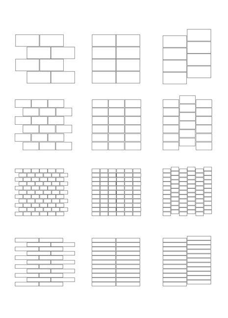 Rectangular Tile Designs