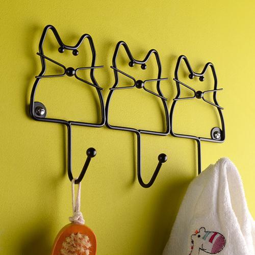 33 Creative Wall Hooks and Racks Bringing Surprising Storage Ideas ...