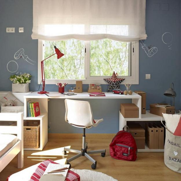 Tables for Kids Study Areas, Organizing Children Bedroom ...