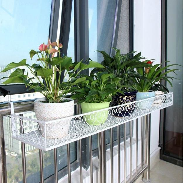3. Fabric planters & 25 Space Saving Ideas Creating Beautiful Balcony Designs Porch ...