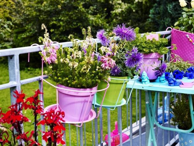 Pots For Balcony Railings