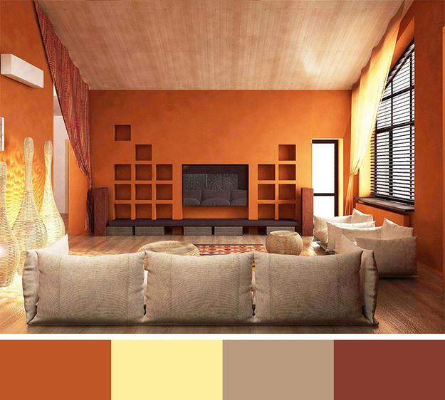 12 modern interior colors decorating color trends - Color schemes for interior design ...