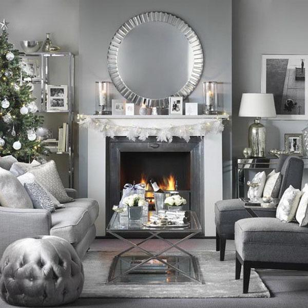 Green And Gray Living Room Decor
